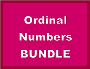 Ordinal Numbers in English Bundle
