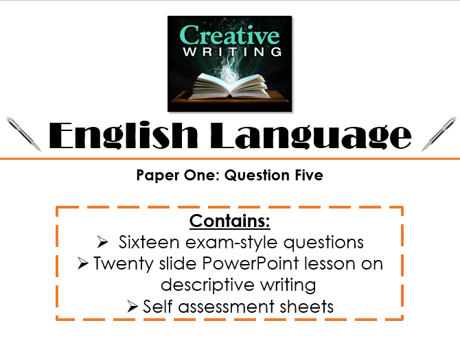 English Language Paper One - Section B: Question Five (AQA, New Spec)