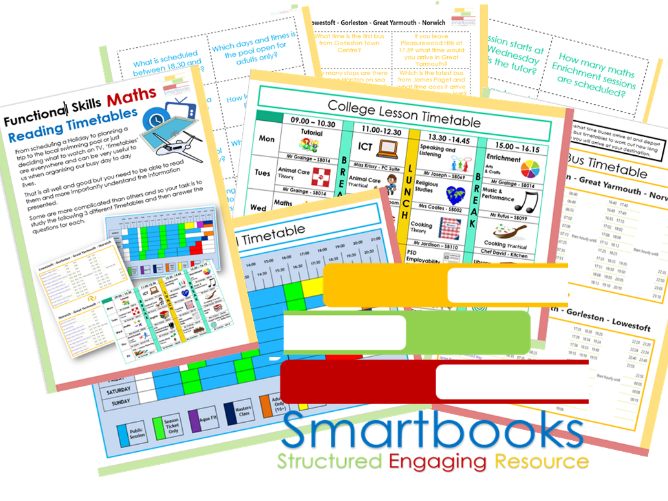 Functional Skills - Maths - Reading Timetables