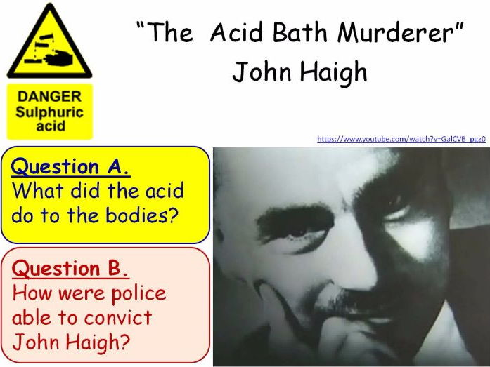 Hazards and Hazard Symbols Year 7 Lesson PowerPoint (KS3 7Fa) Acids and Alkalis Topic