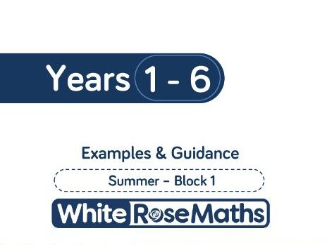 White Rose Maths - Summer - Block 1 - Years 1 - 6