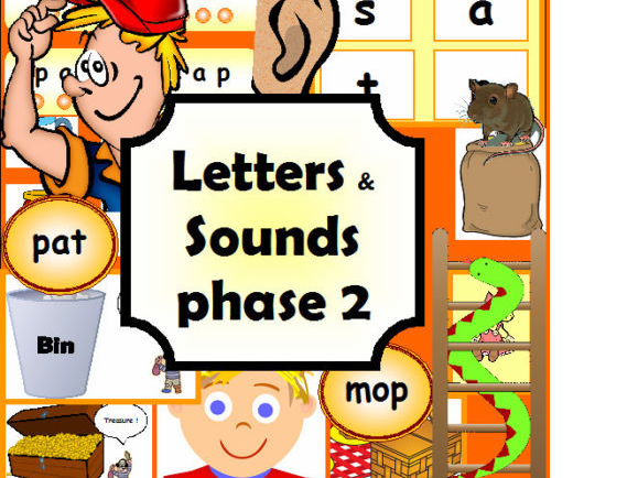 Letters and Sounds phase 2 Teaching Programme EYFS