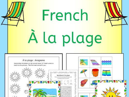 French Summer - Beach vacation - A La Plage
