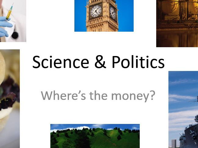 Funding and Politics in Science