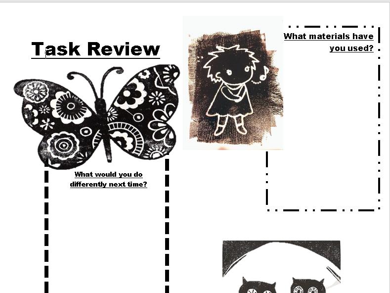 Task Review Sheet