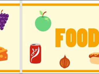 Food Classroom Display Banner