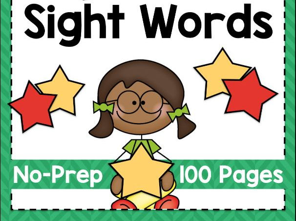100 Sight Words Worksheets