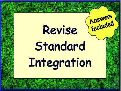 Standard Integration