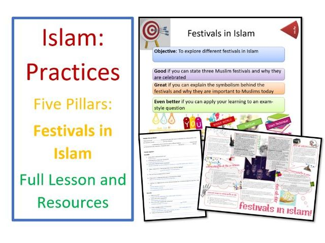 Islam: Practices - Festivals, including Eid ul-Fitr, Eid ul-Adha and Ashura - Whole Lesson
