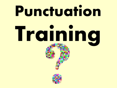 WRITING Staff Meeting: Punctuation (English, INSET, Training)