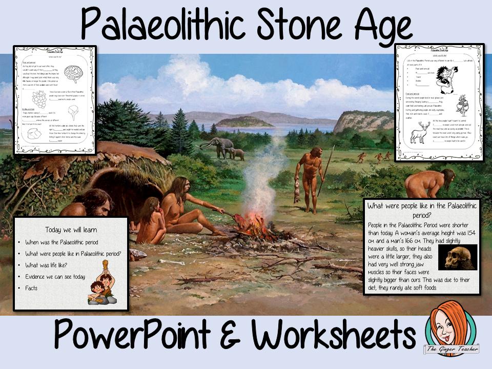 Palaeolithic Stone Age Lesson