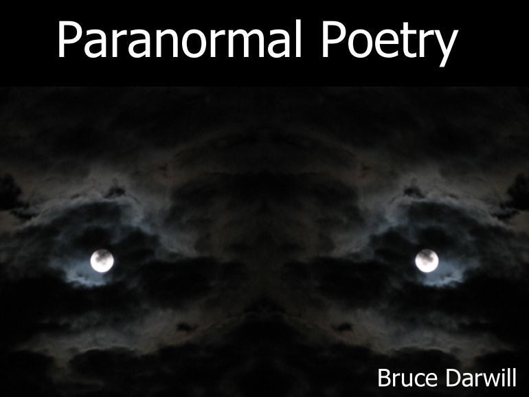 Paranormal Poetry. A selection of audio book  poems inspired by paranormal & supernatural  phenomena
