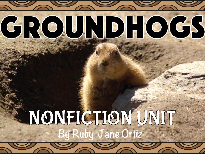 Groundhog Nonfiction Unit