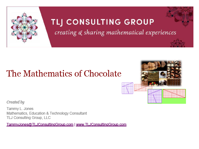 The Mathematics of Chocolate - National Chocolate Day