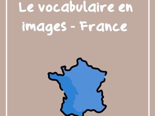 [FREE] La France (vocabulaire illustré)