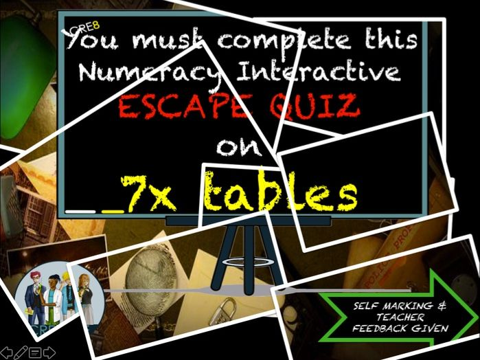Multiplication Maths End of Term Quiz 7