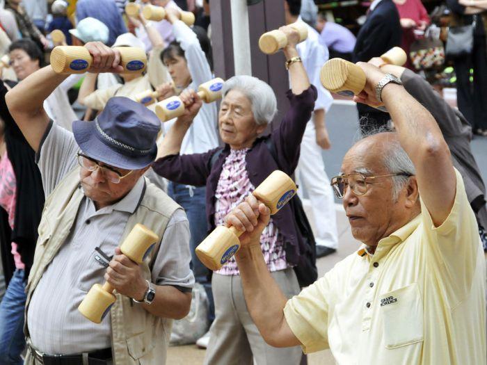 Aging Population - Japan