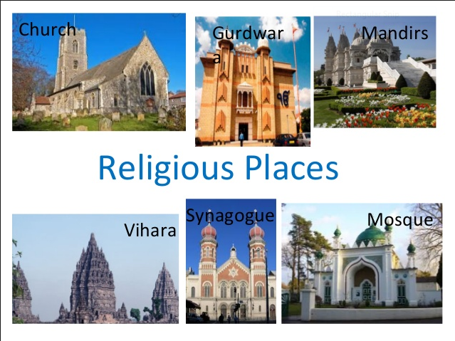Series of RE lessons covering Special religious places