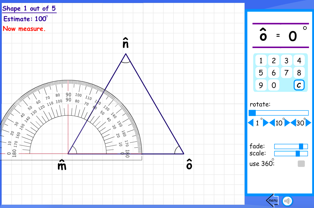 Shape Angles Estimate and Measure Interactive Activity - KS2 Geometry