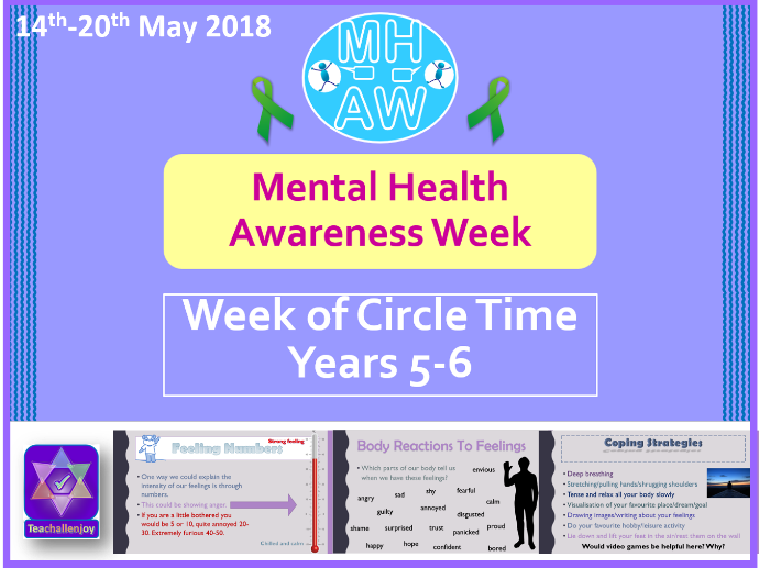 Mental Health Awareness Week 2018 Yr 5-6 Circle Time