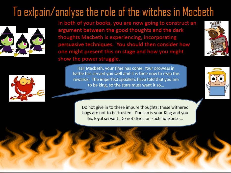 Lessons on the witches in Macbeth