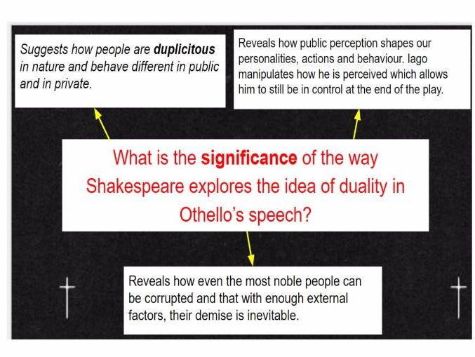 Othello Act 5 Scene 2 Tragic Downfall