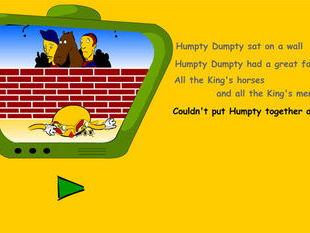 Humpty Rhyme