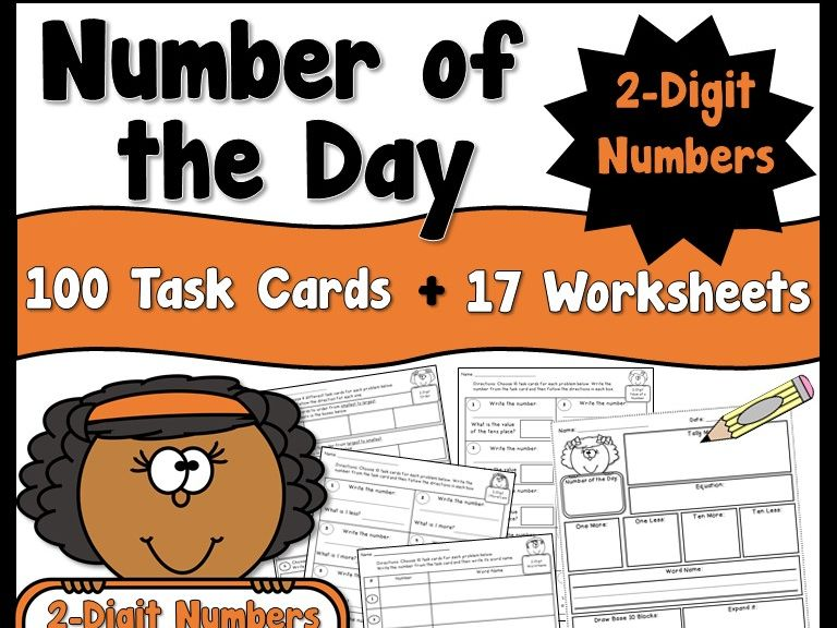 Number of the Day using 2 Digit Numbers