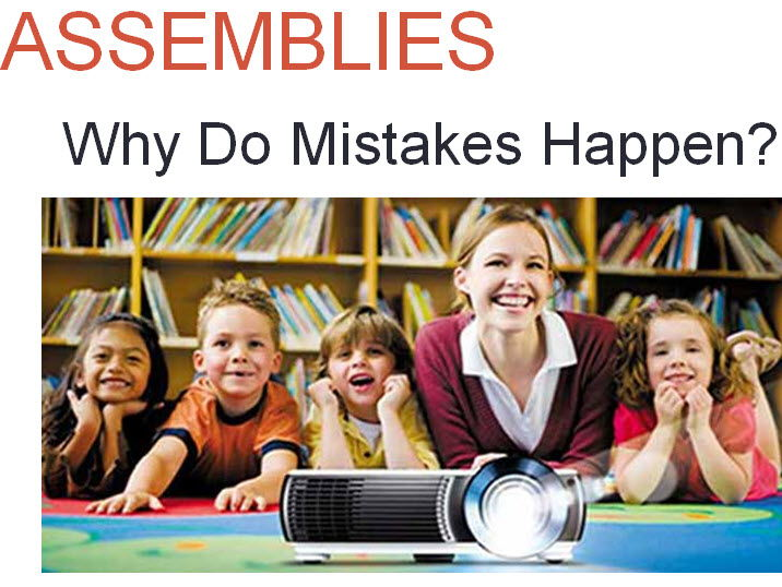 Assembly - Mistakes