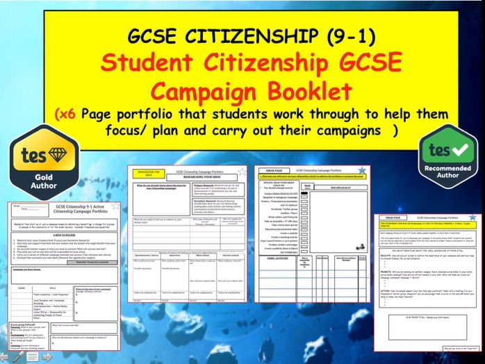 Citizenship teaching resources – Citizenship in the World Worksheet Answers
