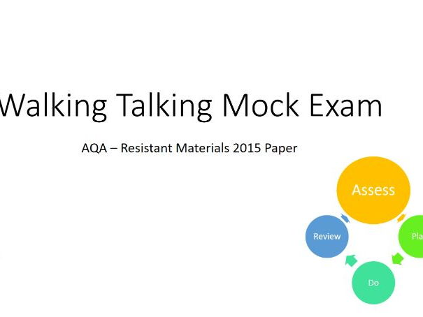 Walking Talking Mock Exam Resistant Materials