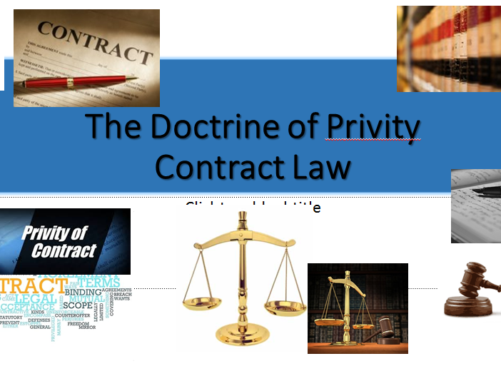 "Contract Law-A-level (OCR NEW SPEC)- ""Privity of Contract""-Lesson"