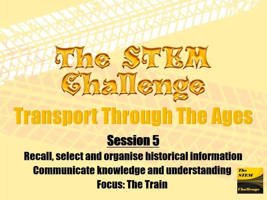 Transport Through The Ages - Session 5