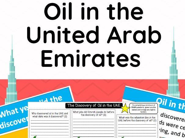 Oil in the UAE - FULL LESSON