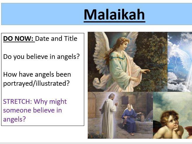 Malaikah / Angels - Muslim Beliefs - Edexcel Spec B