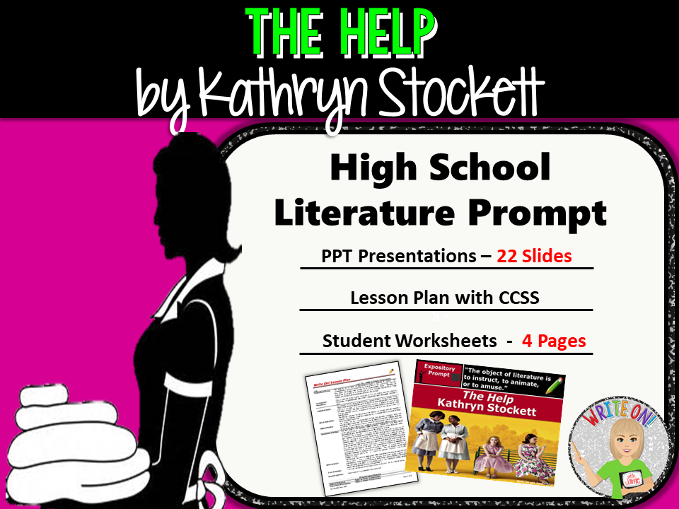 The Help by Kathryn Stockett - Text Dependent Analysis Expository Writing