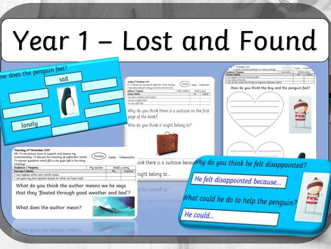 Year 1 - Lost and Found