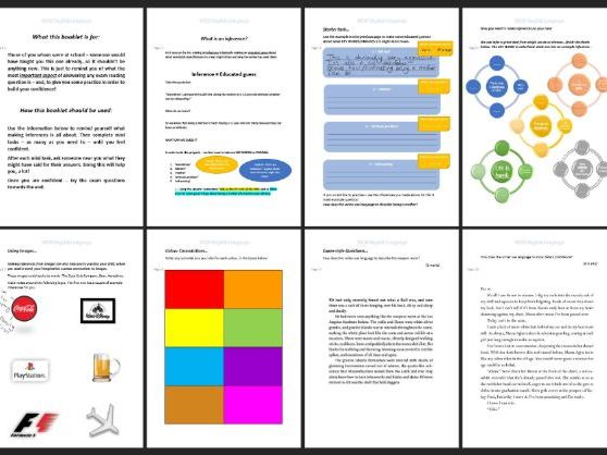 AQA 8700/1 GCSE English Language - Language Analysis Revision Workbook