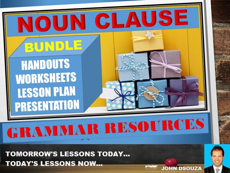 NOUN CLAUSE: BUNDLE