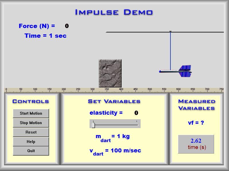 Physics - Impulse & Momentum Demos - PC Version