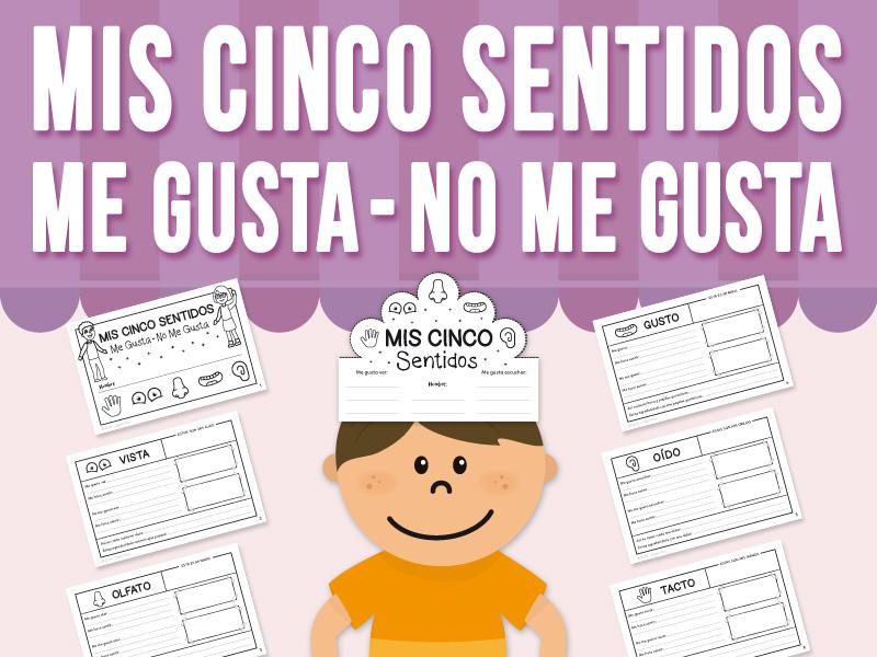 Mis Cinco Sentidos - Me Gusta - No Me Gusta - SPANISH VERSION