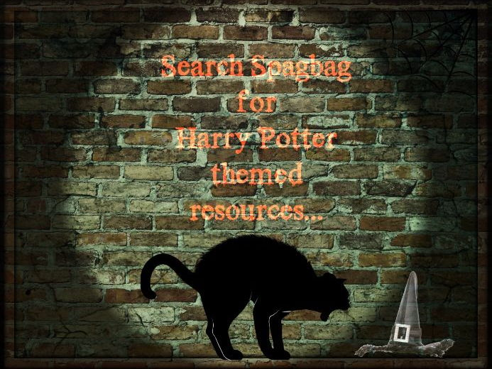 Spelling activities including homophones with Harry Potter