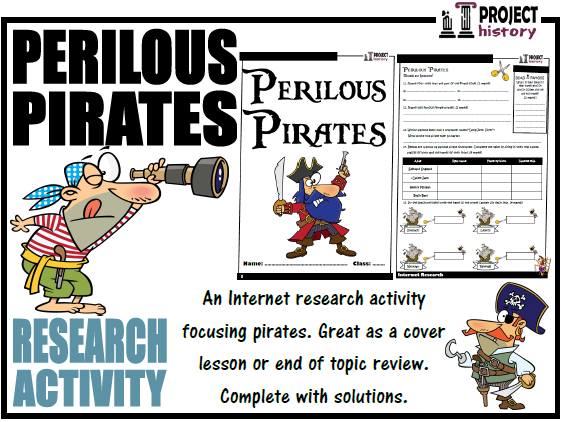 Pirates Internet Research Activity