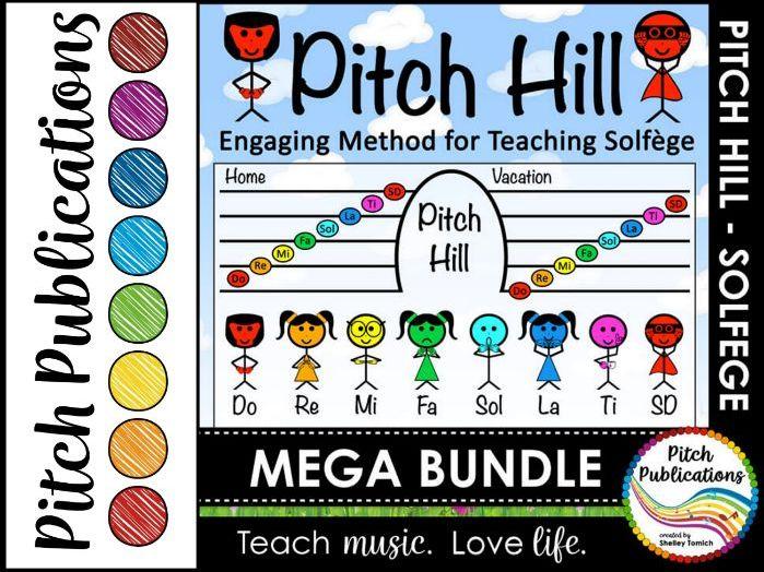 Pitch Hill: {MEGA BUNDLE} - Teaching Solfege through Storytelling!