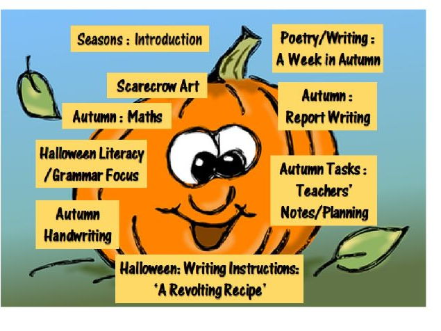 Halloween/Autumn Topic Bundle