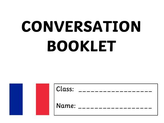 French - General Conversation Booklet