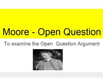 Moore's Open Question
