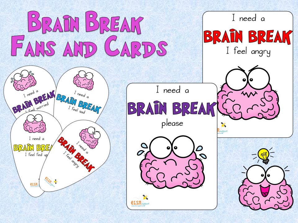 Brain Break Cards and Fans