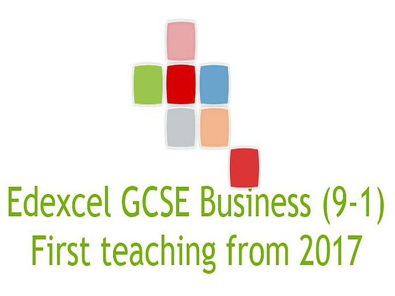 Edexcel GCSE Business new spec 9-1 Theme 1 Investigating small business