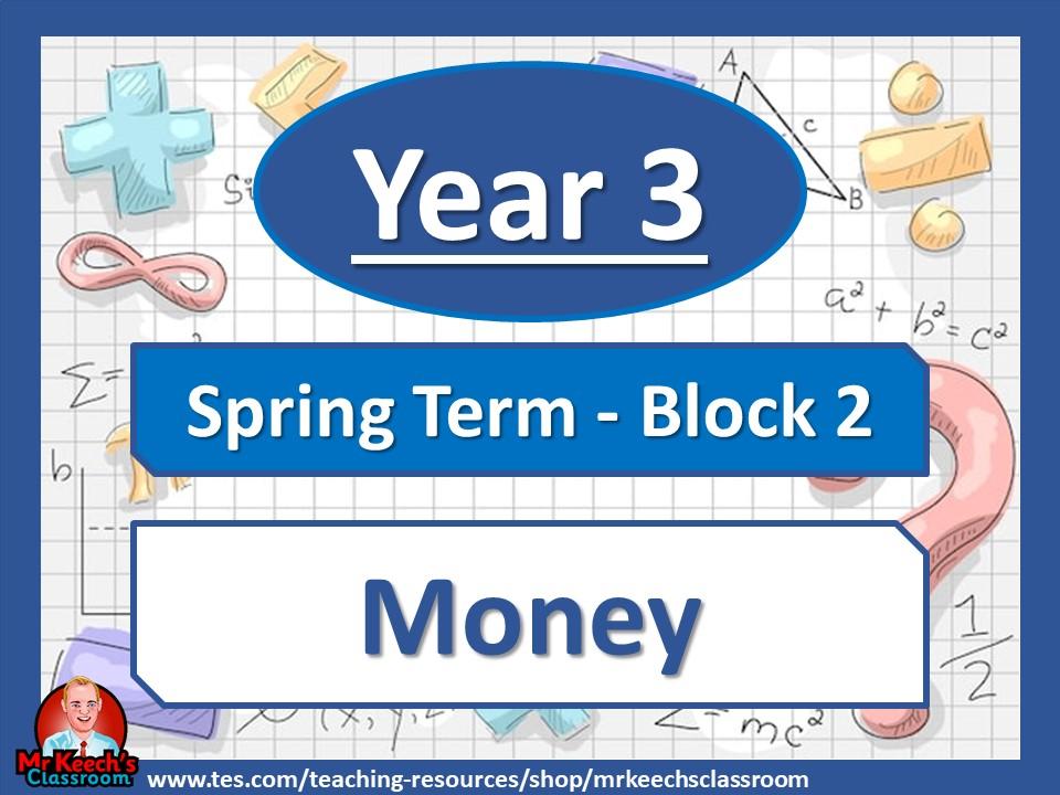 Year 3 Money Spring Block 2 White Rose Maths